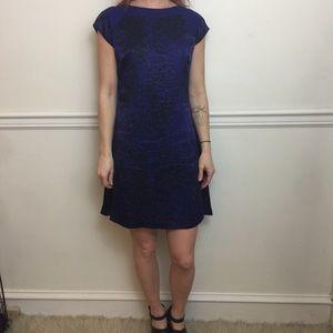 Rebecca Taylor Silk Satin Sheath Mini Dress